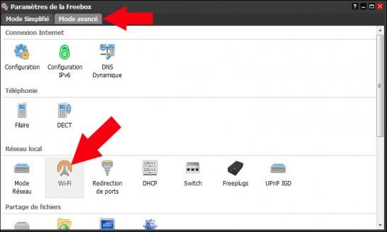 freebox revolution activer desactiver le wifi 3