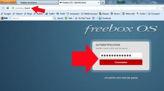 freebox revolution configurer le ftp 1