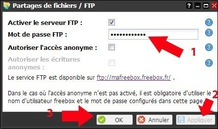 freebox revolution configurer le ftp 4