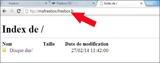 freebox revolution configurer le ftp 5