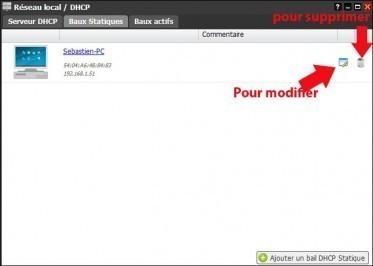freebox revolution dhcp assigner une ip fixe 5