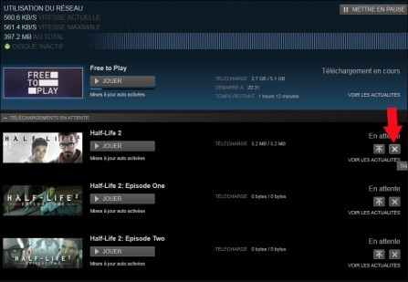 gestion des telechargements de steam 4