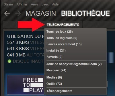 gestion des telechargements de steam 5
