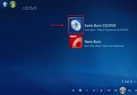 graver un cd mp3 avec windows media center 3