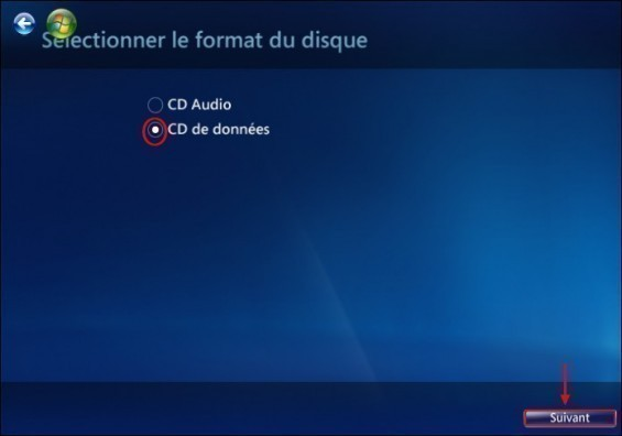 graver un cd mp3 avec windows media center 4
