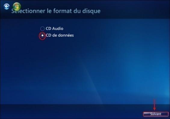 graver un cd mp3 avec windows media center 4