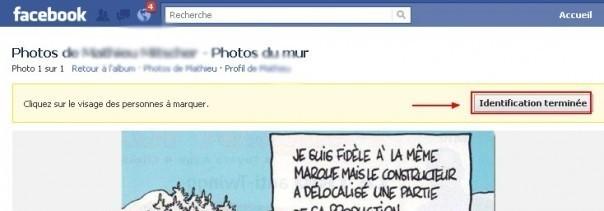 identifier une personne sur une photo facebook 2