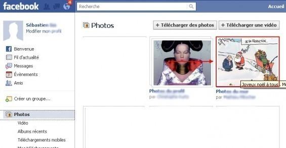 Identifier une personne sur une photo Facebook