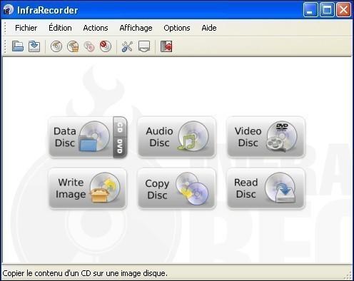 InfraRecorder logiciel de gravure gratuit
