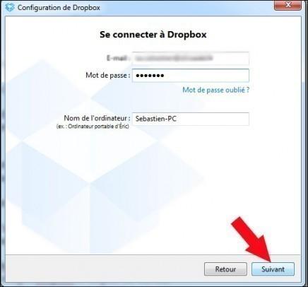 installer dropbox 6
