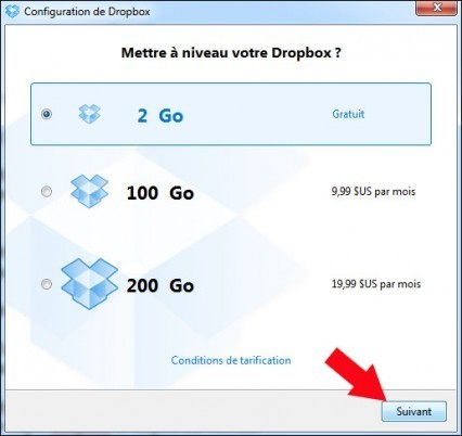 installer dropbox 7