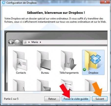 installer dropbox 10