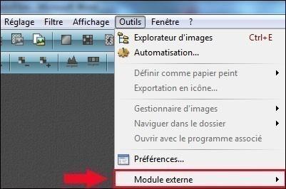 module externe photofiltre
