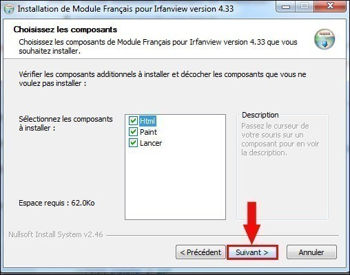 installer un pack de langue pour irfanview 2