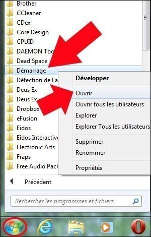 lancer un logiciel au demarrage sous windows 7 2
