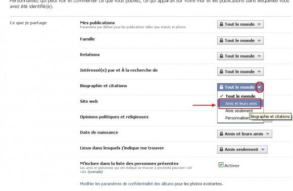 limiter l acces a ses donnees avancees sur facebook 5
