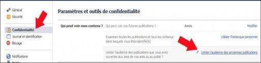 limiter l acces aux anciennes publications facebook 2