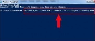 liste des programmes installes windows 7 1