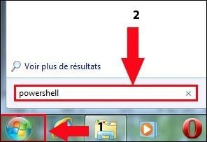 Liste des programmes installés Windows 7