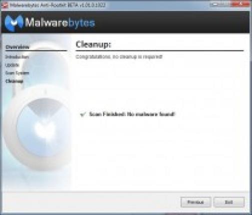 malwarebytes rootkit 9