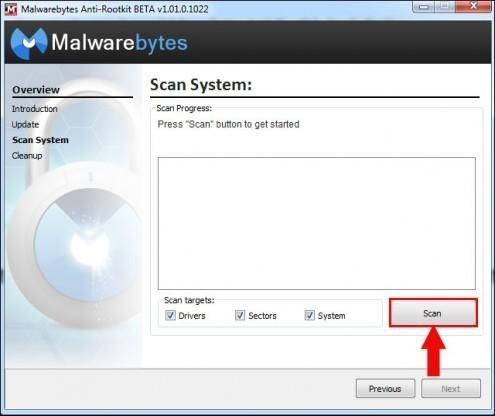 malwarebytes rootkit 7