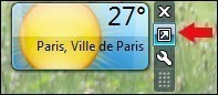 meteo sur bureau windows 7 3