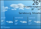 meteo sur bureau windows 7 0