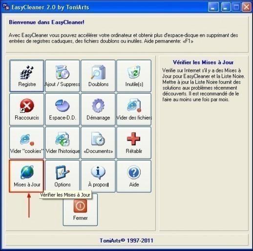Mettre à jour EasyCleaner