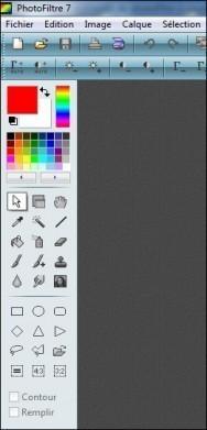 mettre la barre d outils de photofiltre a gauche 4