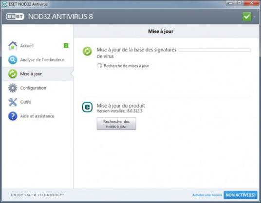 mise a jour manuelle antivirus nod32 2