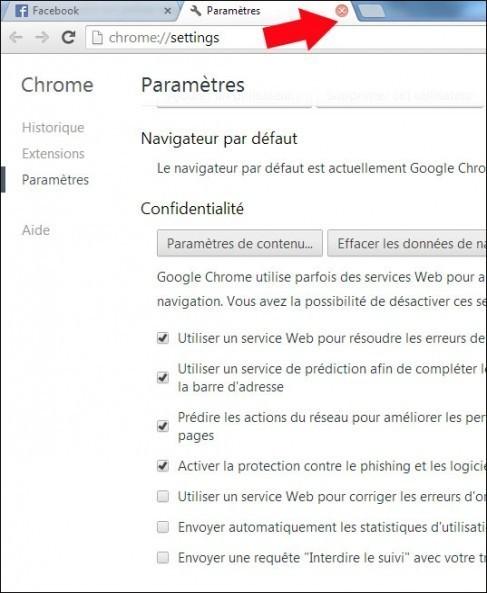 modifier la taille des polices google chrome 4