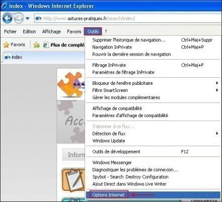 Modifier le type de police sous internet explorer 8.0