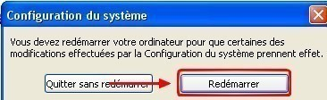 msconfig desactiver des programmes au demarrage de windows 3