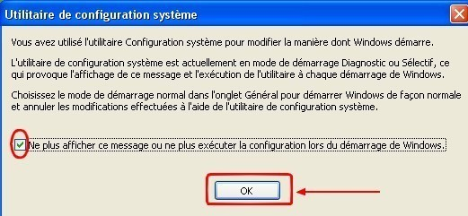 msconfig desactiver des programmes au demarrage de windows 4