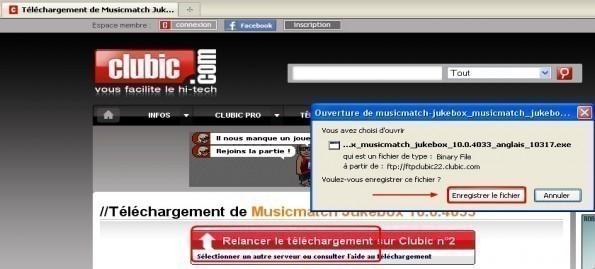 musicmatch jukebox telechargement installation presentation 1