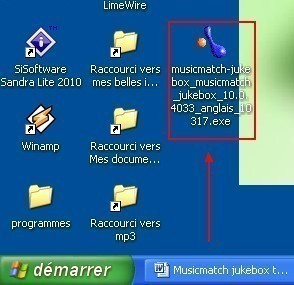 musicmatch jukebox telechargement installation presentation 3