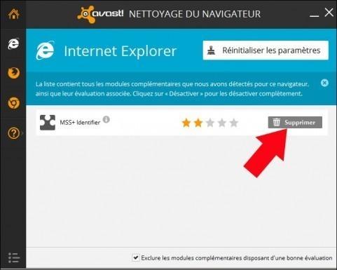 nettoyer un navigateur internet avec avast 2014 3