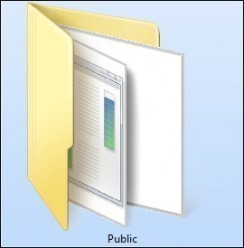 Partager facilement des fichiers sur un réseau Windows 7