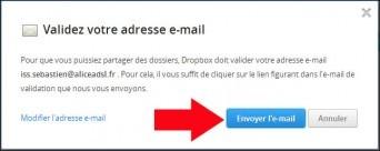 partager un dossier avec dropbox 4
