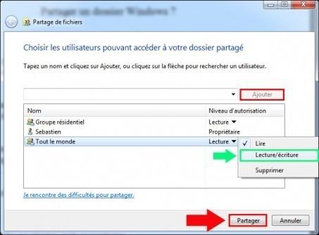 partager un dossier windows 7 2