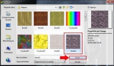 photofiltre encadrer une image avec un motif 3