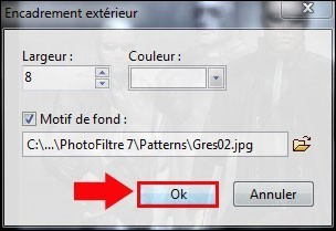 photofiltre encadrer une image avec un motif 4