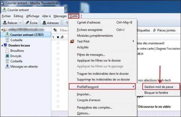 proteger les mails par mot de passe sur thunderbird 0