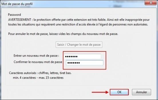 proteger les mails par mot de passe sur thunderbird 2