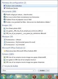 rechercher fichier dossier avec windows 7 0