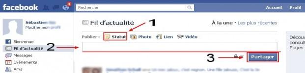 Rédiger un commentaire sur Facebook