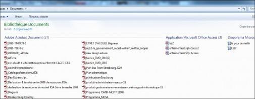 regrouper des fichiers par type sous windows 7 4