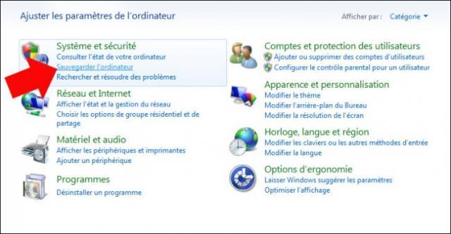 restaurer des fichiers a partir d une sauvegarde windows 7 2