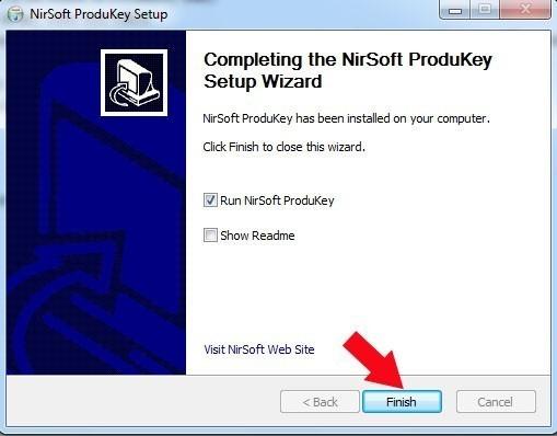Retrouver la clé de Windows