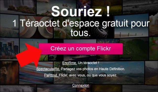 s inscrire sur flickr 0